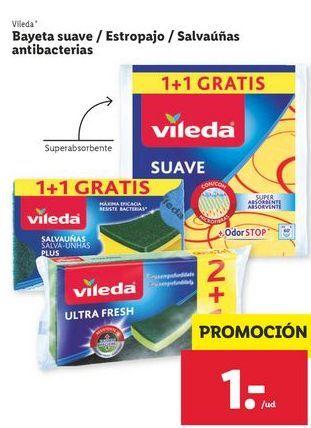 Oferta de Bayeta usuave/estropajo Vileda por 1€