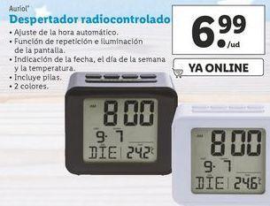 Oferta de Despertador radiocontrolado  Auriol por 6,99€