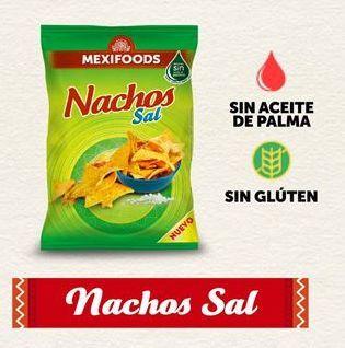 Oferta de Nachos mexifoods por