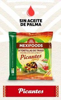 Oferta de Tortitas mejicanas mexifoods por