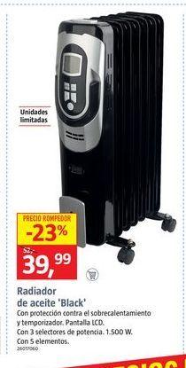 Oferta de Radiador de aceite por 39,99€