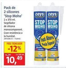 Oferta de Silicona antimoho ceys por 10,49€