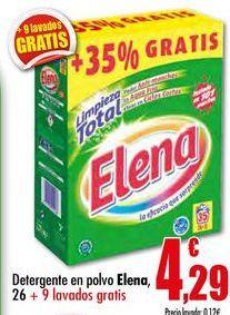 Oferta de Detergente en polvo Elena por 4,29€