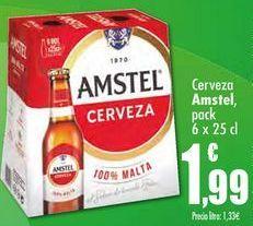 Oferta de Cerveza amstel  por 1,99€