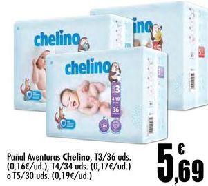 Oferta de Pañales Chelino por 5,69€
