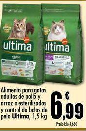 Oferta de Comida para gatos Última por 6,99€