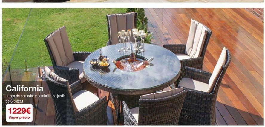 Oferta de Muebles de jardín por 1229€