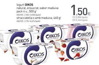 Oferta de Yogur OIKOS por 1,5€