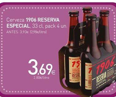 Oferta de Cerveza 1906 por 3,69€