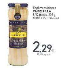 Oferta de Espárragos blancos Carretilla por 2,29€