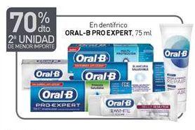 Oferta de Dentífrico Oral B por