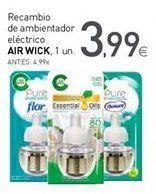 Oferta de Recambio de ambientador Air Wick por 3,99€