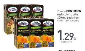 Oferta de Zumo Don Simón por 1,29€