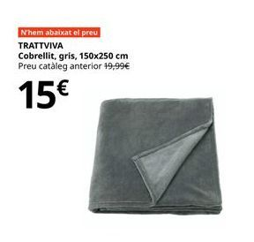 Oferta de Manta por 15€