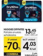 Oferta de Pañales Huggies por 13,45€