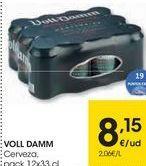 Oferta de Cerveza Voll-Damm por 8,15€