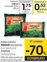 Oferta de Guisantes Findus por 1,75€