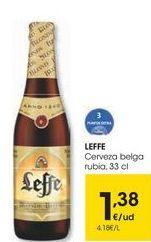 Oferta de Cerveza belga Leffe por 1,38€
