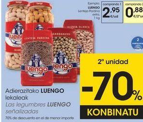 Oferta de Legumbres Luengo por 2,95€