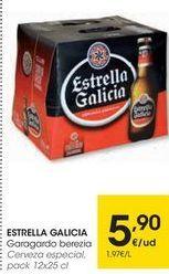 Oferta de Cerveza especial Estrella Galicia por 5,9€