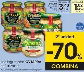 Oferta de Legumbres Gvtarra por 3,4€
