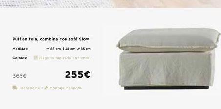 Oferta de Puff por 255€