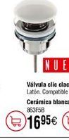 Oferta de Válvula PLASTISAN clic clac por 16,95€