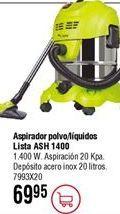 Oferta de Aspirador LISTA ASH1400 por 69,95€