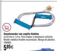 Oferta de Desobturador con cepillo HABITEX ø6,8mmx1,8m por 5,95€