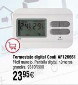 Oferta de Termostato COATI digital AF126661 por 23,95€