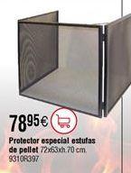 Oferta de Salvachispas estufa pellet por 78,95€