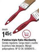 Oferta de Paletina triple RATIO mango rojo por 1,45€