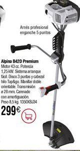 Oferta de Desbrozadora de gasolina ALPINA B42D por 299€