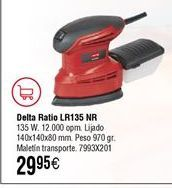 Oferta de Lijadora tipo Mouse RATIO LR135NM por 29,95€