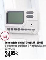 Oferta de Termostato COATI digital AF126685 por 34,95€