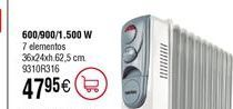 Oferta de Radiador de aceite E316 Habitex por 47,95€
