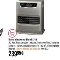 Oferta de Estufa de parafina Zibro por 239,95€