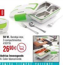 Oferta de Fiambrera eléctrica INNOVAGOODS 50W por 26,9€