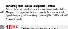 Oferta de Sartén HABITEX-SAN IGNACIO Oceanía por 10,95€