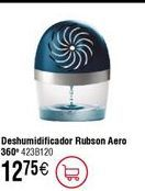 Oferta de Deshumidificador Rubson Hero  por 12,75€