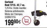 Oferta de Desbrozadora gasolina GARLAND best 721G por 199,9€