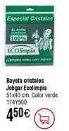 Oferta de Bayeta 100% microfibra Ecolimpia por 4,5€