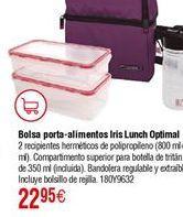 Oferta de Bolsa térmica IRIS lunchbag optimal lila por 22,95€