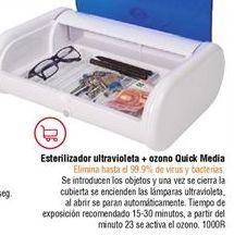 Oferta de Esterilizador de objetos ultravioleta Quick Media por
