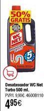 Oferta de Desatascador WC NET turbo por 4,95€