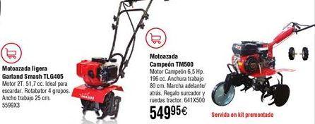 Oferta de Motoazada Garland por 549,95€