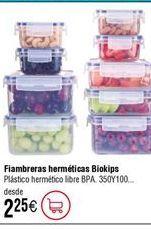 Oferta de Fiambrera Komax BIOKIPS hermética de plástico por 2,25€