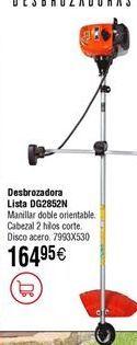 Oferta de Desbrozadora de gasolina LISTA DG2852N por 164,95€
