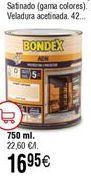 Oferta de Protector de madera Bondex por 16,95€