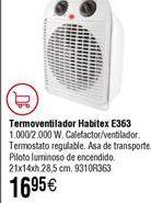 Oferta de Termoventilador Habitex por 16,95€